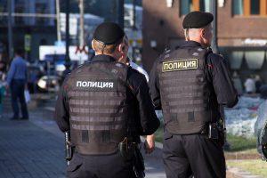 полицейские подставили
